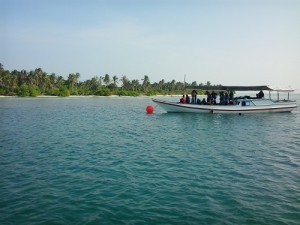 Mooring Buoy di Menjangan Kecil