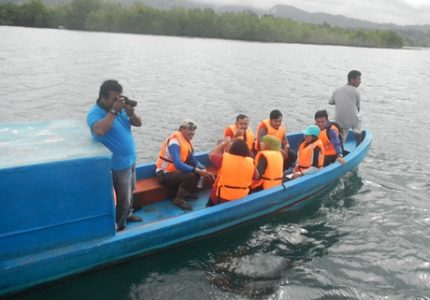 Wisata mangrove di teluk Ambon