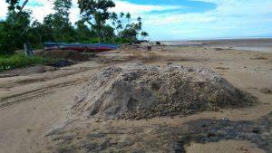 Pasir Pantai Urumb Merauke dikeruk